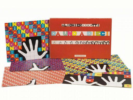 Alighiero BOETTI - Print-Multiple - Da uno a dieci