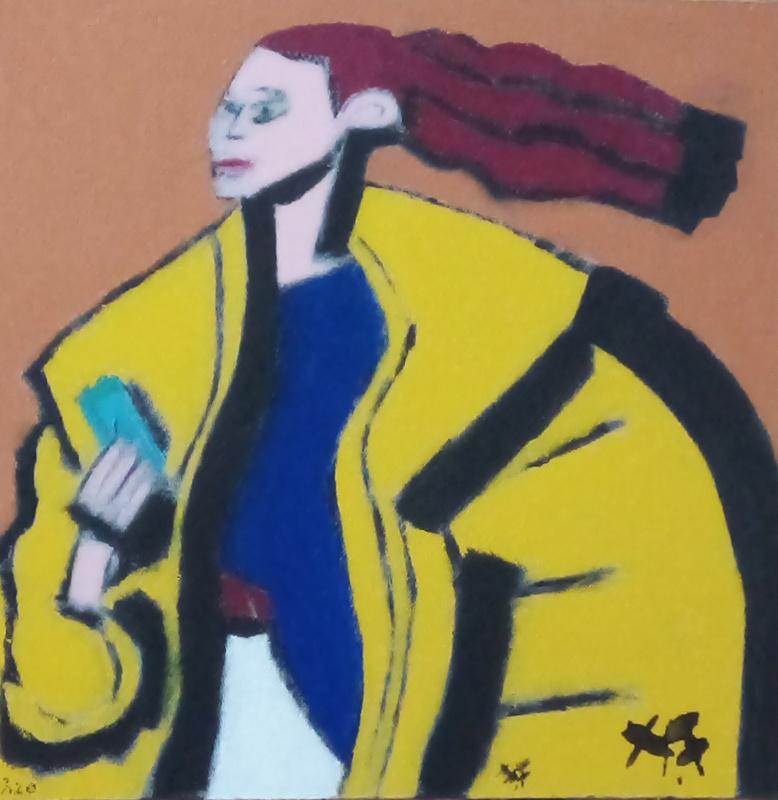 Harry BARTLETT FENNEY - Painting - street style 2