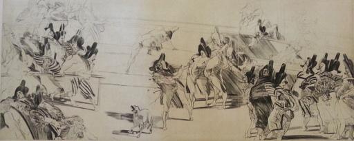 Claude WEISBUCH - Print-Multiple - Les Comédiens