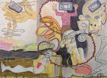 Robert GAUDREAU - Painting - Life Support
