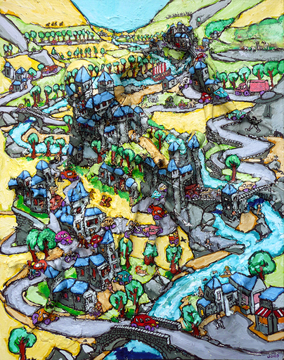 UGOS - Gemälde - Le drakkar