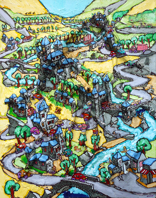 UGOS - Painting - Le drakkar