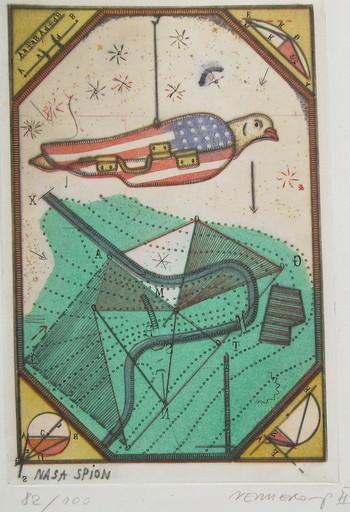 Johannes VENNEKAMPF - Print-Multiple - Nasa Spion