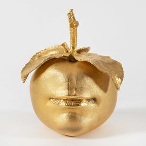 Claude LALANNE - Sculpture-Volume - Pomme bouche