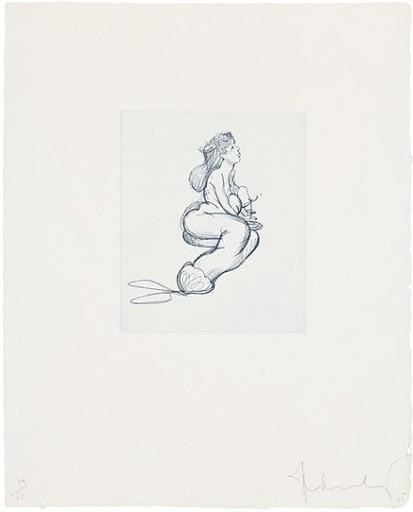 Claes Thure OLDENBURG - Stampa-Multiplo - Mermaid