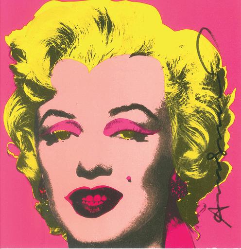 Andy WARHOL - Estampe-Multiple - Marilyn Monroe - Invitation Card