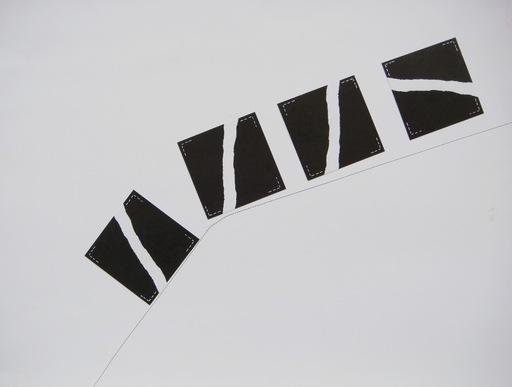 Alain KIRILI - 水彩作品 - Sans titre, 1971