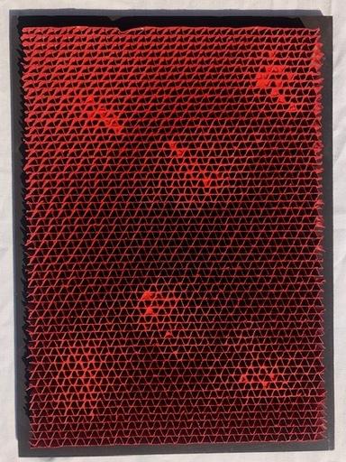 Bernard AUBERTIN - Painting - Alveolès