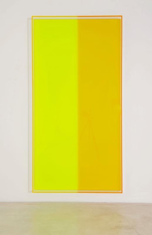Regine SCHUMANN - Escultura - Colormirror yellow green bonn