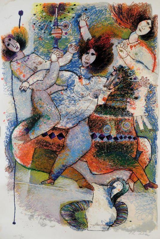 Théo TOBIASSE - Print-Multiple - La Lumiere du Prophete
