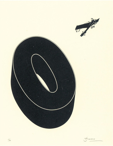 Joan BROSSA - Grabado - Poema visual 20