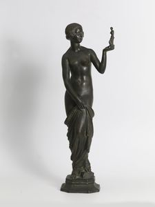 Joe DESCOMPS - Sculpture-Volume - Young naked woman
