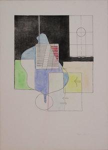 Agostino BONALUMI - Estampe-Multiple - Untitled