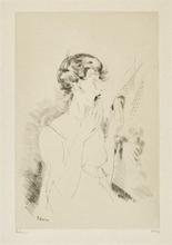 Jean Émile LABOUREUR - Print-Multiple - FEMME A SA TOILETTE