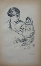 Hermann STRUCK - Print-Multiple - Mother and Child