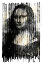 MR BRAINWASH - Painting - Mona Lisa