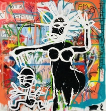 KOKIAN - Peinture - MOMA and SON****SOLD****VENDU*****