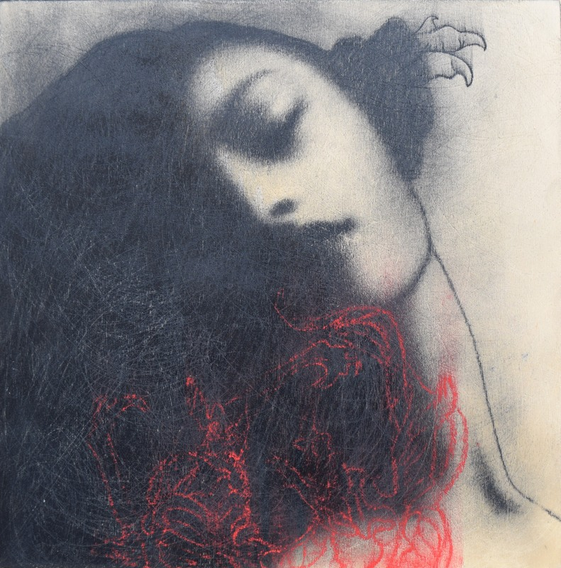 Omar GALLIANI - Pintura - Nuovi fiori, nuovi santi
