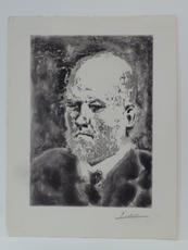 巴勃罗•毕加索 - 版画 - Portrait de Vollard I