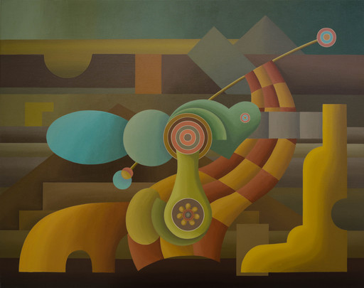 Enrique Rodriguez GUZPENA - Pintura - Lusitania