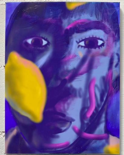 Gaëtan HENRIOUX - Painting - « À Peine Défigurée »