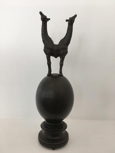 LES DEUX GARÇONS - Sculpture-Volume - Chocococongo