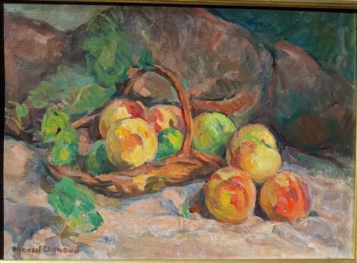 Marcel ARNAUD - Pintura - Panier de fruits