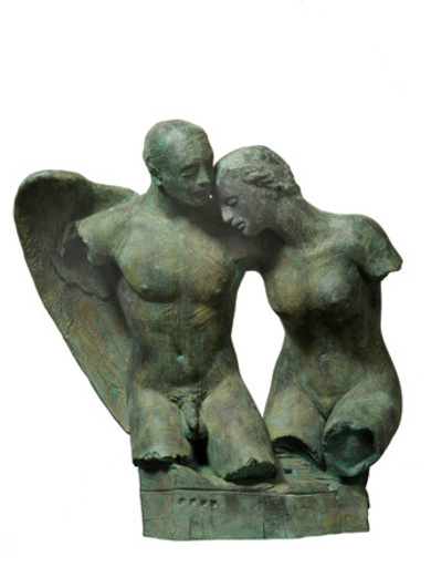 Igor MITORAJ - Escultura - Bacio dell'angelo