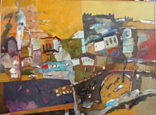 Robert DRAGOT - Painting - Prizren before the war of 1999