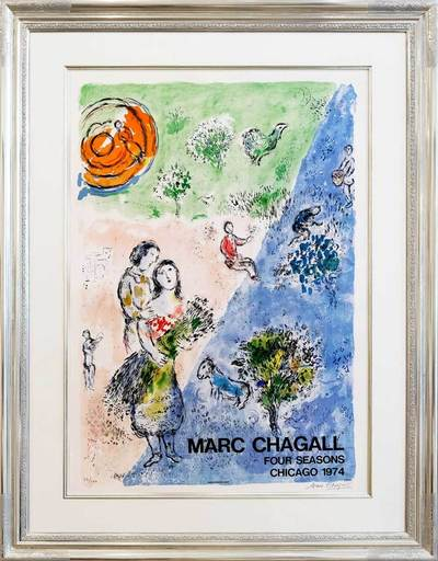 Marc CHAGALL - Stampa-Multiplo - Four Seasons