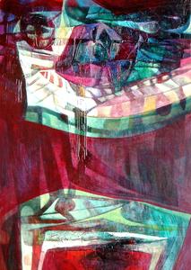 Raul ENMANUEL - Pintura - Simetria