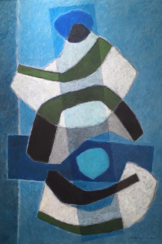Jorj MORIN - Pittura - Equilibre Fugace