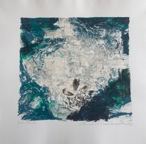 ZAO Wou-Ki - Print-Multiple - Pour catalogue Berggruen Paris