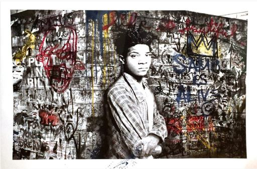 MR BRAINWASH - Estampe-Multiple - Samo is alive