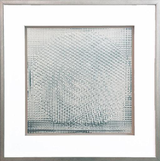 Heinz MACK - Druckgrafik-Multiple - Rotor grey-white