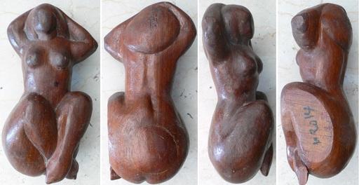 Ferdinand PARPAN - Sculpture-Volume - Nu allongé