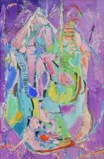 André LANSKOY - Pintura - Composition