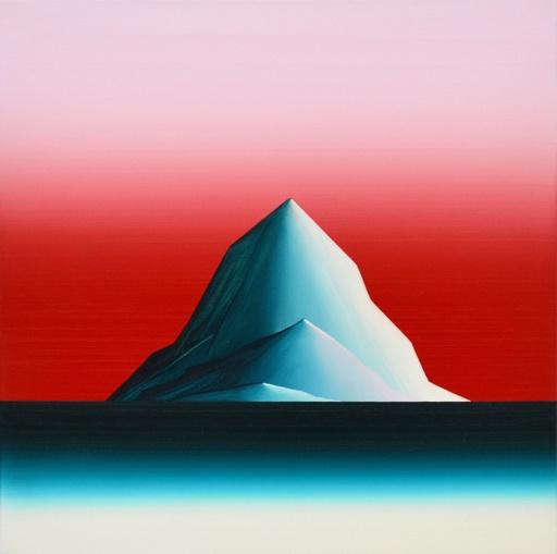 Vera LEUTLOFF - Pittura - Arktis Glow