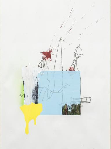 Juan OLIVARES - Drawing-Watercolor - No name
