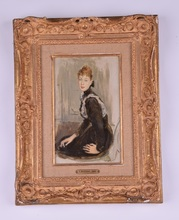 Giovanni BOLDINI (1842-1931) - Ritratto della Marchesa Franzosi