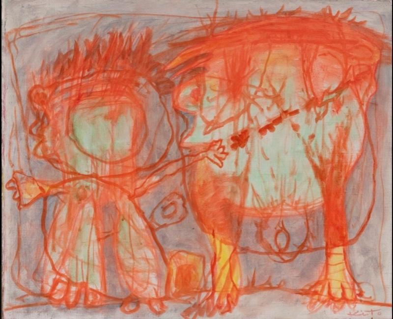 Akira KITO - Painting - Sans titre