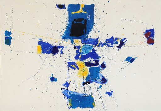 Sam FRANCIS - Print-Multiple - First Stone
