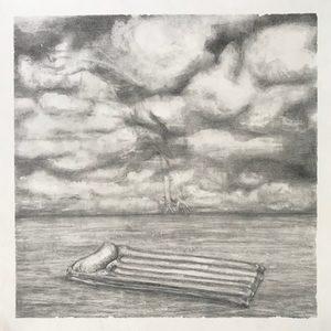 Marie DONNEVE - Dessin-Aquarelle - « Tombée du ciel »