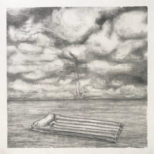 Marie DONNEVE - Drawing-Watercolor - « Tombée du ciel »