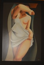 Tamara DE LEMPICKA - Estampe-Multiple - Model