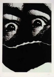 Antonio SAURA - Print-Multiple - Moi, Planche 14