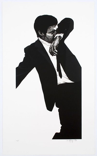 Robert LONGO - Grabado - Mark