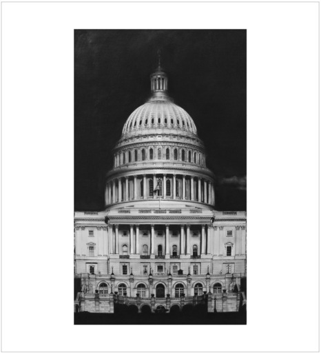 Robert LONGO - Stampa Multiplo - Untitled (Capitol Detail)