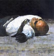 François BARD - Painting - Rédemption