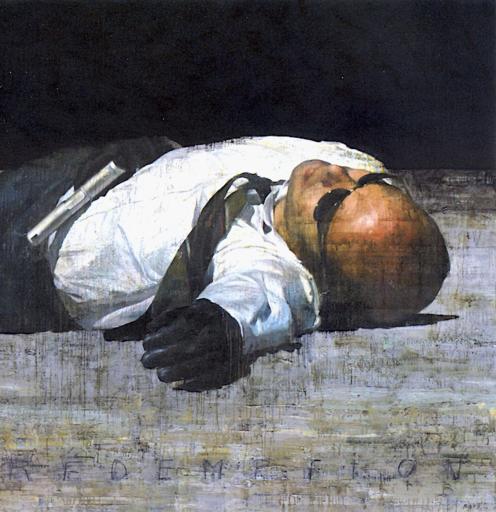 François BARD - Pintura - Rédemption